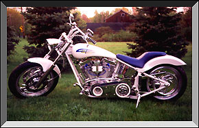 Brother Ron's Custom Bike project